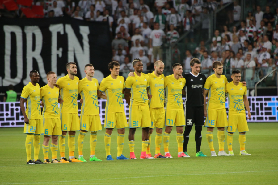 УЕФА: «Астана» рейтингте «Спартак» пен «Ниццаның» алдында тұр