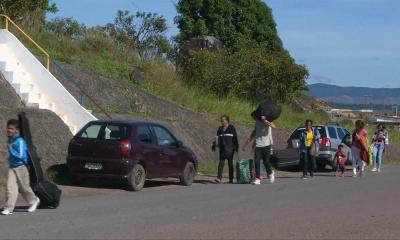Венесуэлалық босқындар Бразилияны паналауда