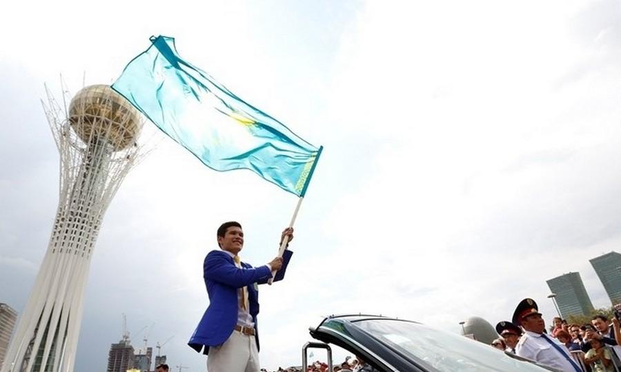 В Астане чествуют призеров Олимпиады-2016