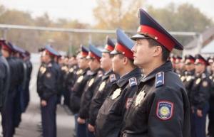 В праздничные дни за порядком в Акмолинской области будут следить 2500 полицейских