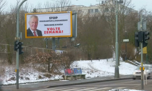 Второй тур президентских выборов начался в Чехии