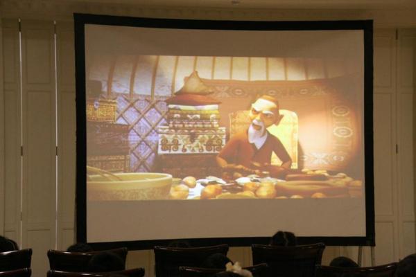Мультфильм «Ер Тостик и Айдахар» показали в Пекине