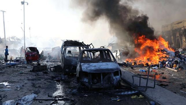Число жертв взрыва в столице Сомали выросло до 189