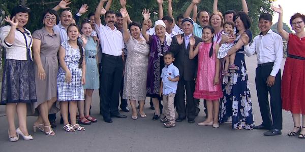 «Мерейлі отбасы-2018». Павлодар облысы, Қазанғаповтар отбасы
