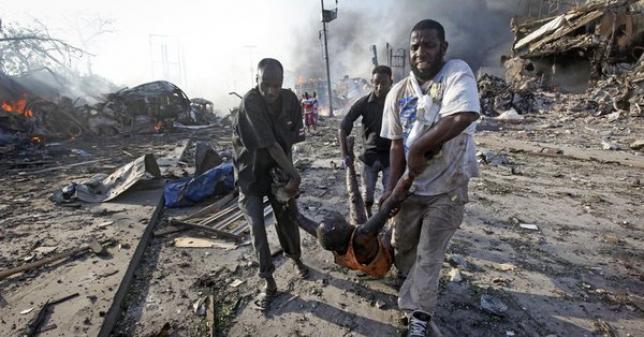 Сомалидегі жарылыс құрбандарының саны тағы артты