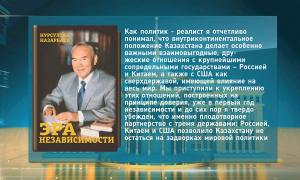 Книга Н.Назарбаева: приоритеты Казахстана на международной арене