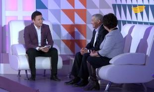 «Орталық Хабар». Ришат Әміренов, Серік Сәпиев, Максим Споткай