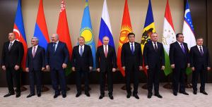 Н.Назарбаев принял участие в неформальном саммите глав государств СНГ