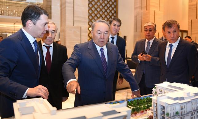 Мемлекет басшысы «The St.Regis Astana» мейманханасына барды