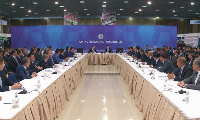 Үкімет басшысы Оңтүстік Қазақстан облысының тыныс-тіршілігімен танысты