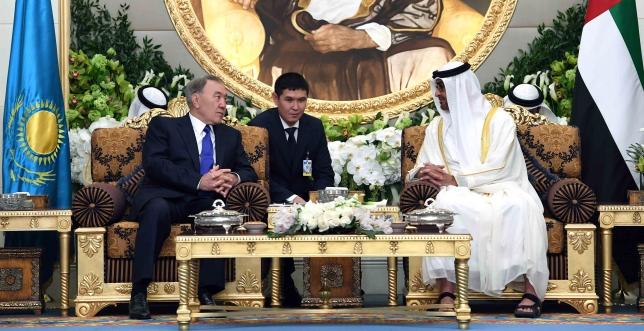 Нурсултан Назарбаев провел переговоры с шейхом Мухаммедом бен Заидом Аль Нахаяном