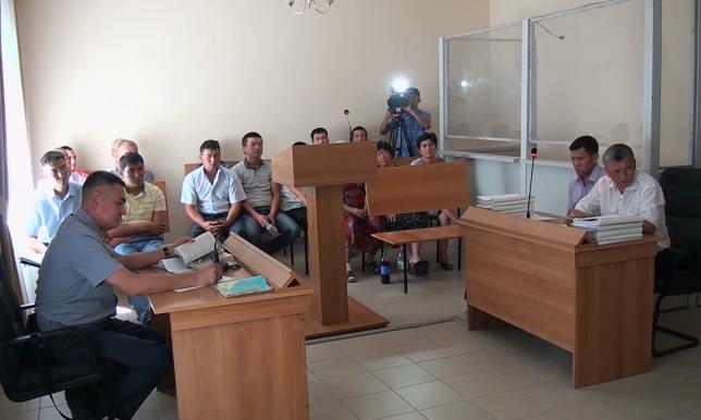 В Шымкенте начался суд по делу о гибели военных