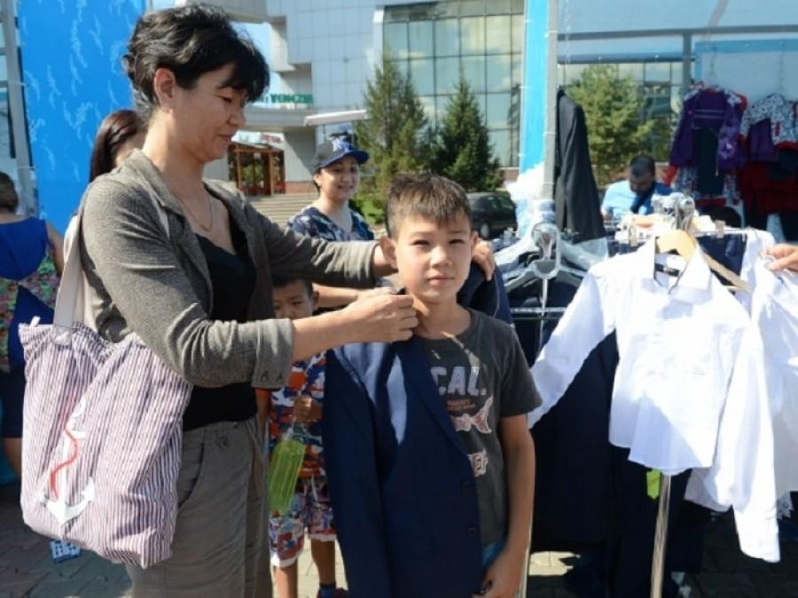 В Астане проходит школьная ярмарка