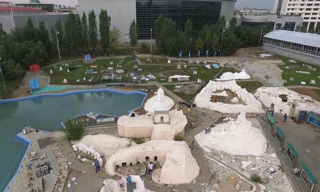 16 лет исполнилось этно-мемориальному комплексу «Карта Казахстана «Атамекен»