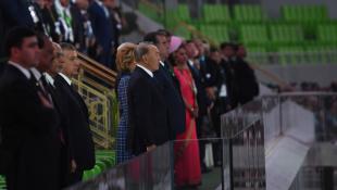 Президент РК принял участие в церемонии открытия Азиады в Ашхабаде