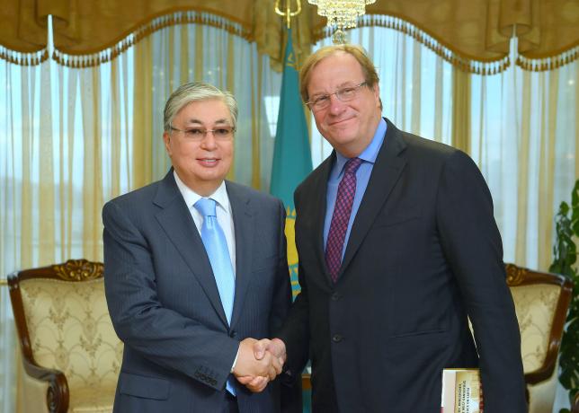 К. Токаев принял руководителя «Атлантического совета»