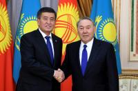Первый визит С.Жээнбекова в РК проходит в год 25-летия дипотношений двух стран