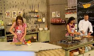 «Магия кухни». Гости: шеф-повар Денис Кадацкий и актриса Айнур Ильясова