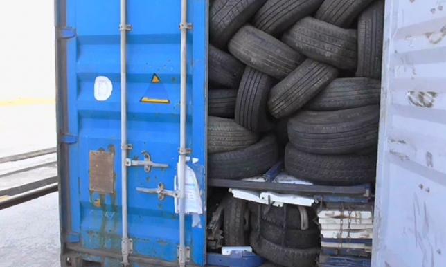 Жамбыл облысында Қырғызстаннан өтпек болған 100 тонна жүк кері қайтарылды