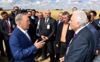 Глава государства встретился с аграриями Акмолинской области