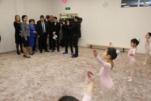 Г.Абдыкаликова приняла участие в церемонии открытия нового детского сада в Астане