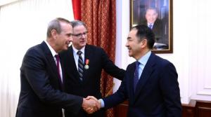 Б.Сагинтаев встретился с представителями компании «Шеврон»