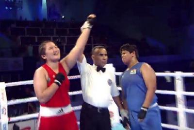 Бокс: Дина Исламбекова әлем чемпионатының финалына шықты