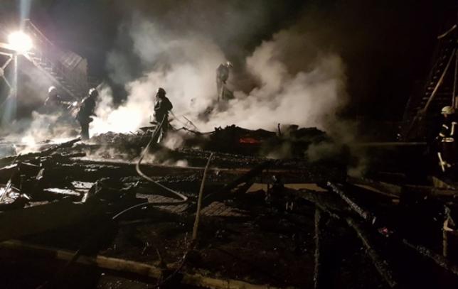 Во время пожара в лагере Одессы погибли 3 ребенка