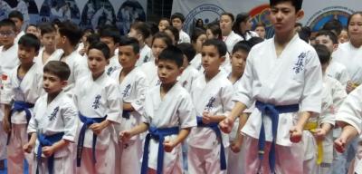 В столице проходит международный турнир по киокушинкай-кан каратэ