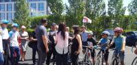 Грузинский велосипедист прибыл в Астану на выставку ЭКСПО-2017