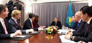 Н.Назарбаев пригласил главу Nasdaq на открытие МФЦА
