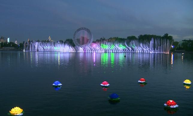 В Астане функционируют 122 фонтана