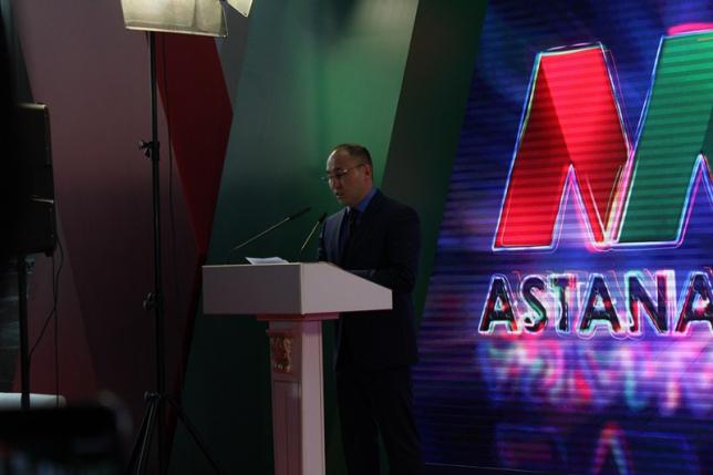 Фоторепортаж: открытие Astana Media Week