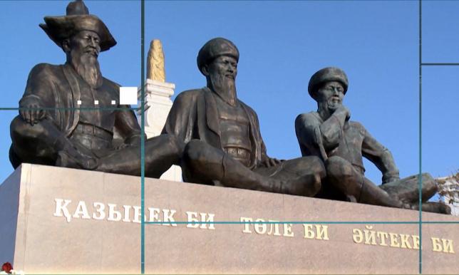 Рухани жаңғыру: Отпантауда қазақтың үш биіне ескерткіш орнатылды