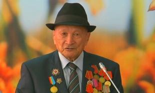 Ветеран ВОВ и бывший аграрий из Кызылорды получил поздравления от «Агентства «Хабар»
