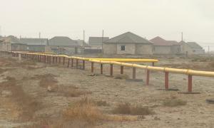 В отдаленных посёлках Атырауской области идут работы по газификации и водоснабжению