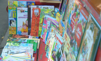 Библиотеку на свежем воздухе открыли в Алматы