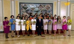 «Көктем шуағы»: встреча Президента с представителями женской общественности Казахстана