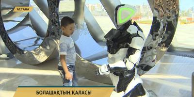 «Нұр Әлем» музейінде роботтар көрмесі ашылды