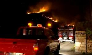 Лесные пожары в Испании уничтожили 75 гектаров земли