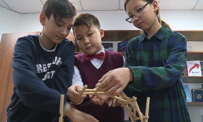 Конструкторы для будущих инженеров создали школьники Астаны