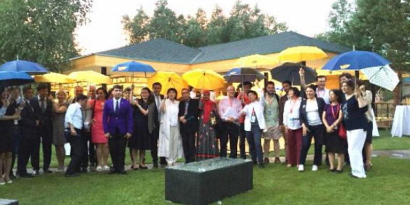 Участники «Медиа диалога Азии» провели дружескую беседу