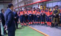 Мажилисмены посетили завод по производству скоростных вагонов
