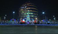 Астана готова встречать Новый год