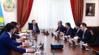 Бақытжан Сағынтаев Түрік және қазақстандық кәсіпкерлер қауымдастығы өкілдерімен кездесу өткізді