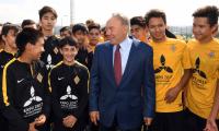 Президент РК посетил спортивную базу футбольного клуба «Кайрат»
