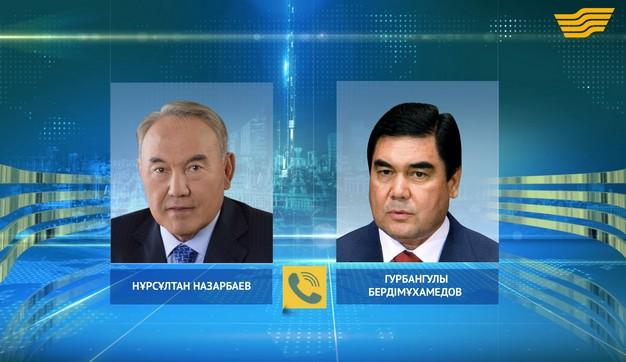 Елбасы Н.Назарбаев Түрікменстан Президенті Г.Бердімұхамедовпен телефон арқылы сөйлесті