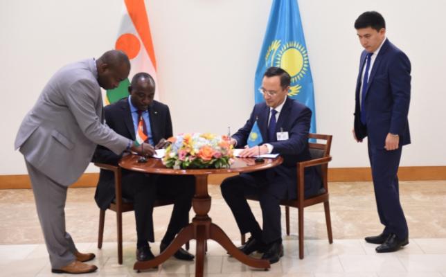 Қазақстан мен Нигер Республикасы дипломатиялық қатынастар орнатты