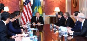 Встреча Нурсултана Назарбаева с министром энергетики США Риком Перри прошла в Вашингтоне