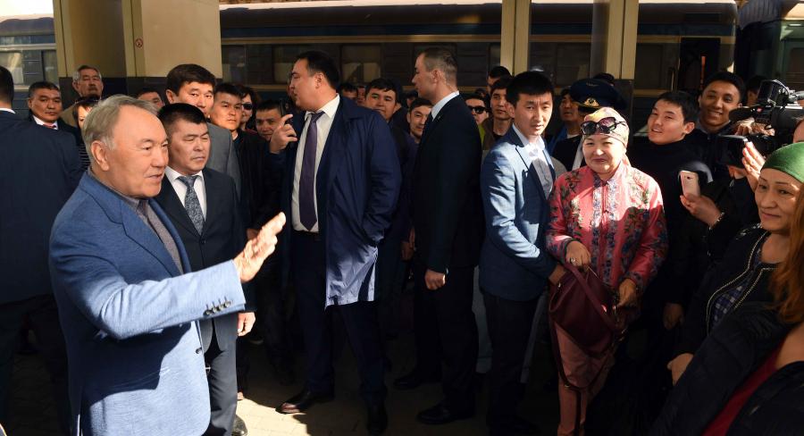 Глава государства посетил столичные объекты